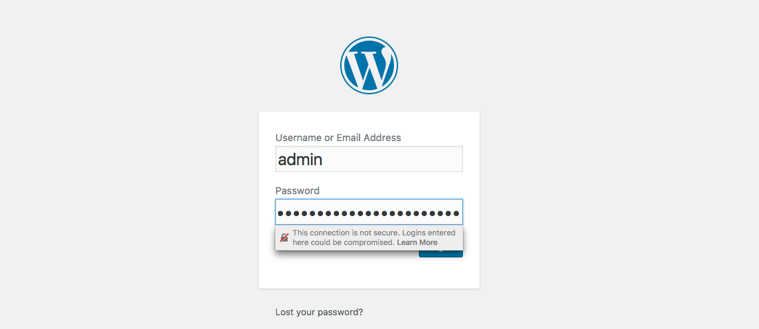 how to create a secure login for my website